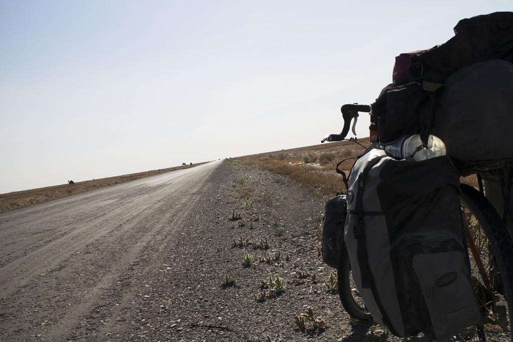 Predictably shit Uzbek dirt road