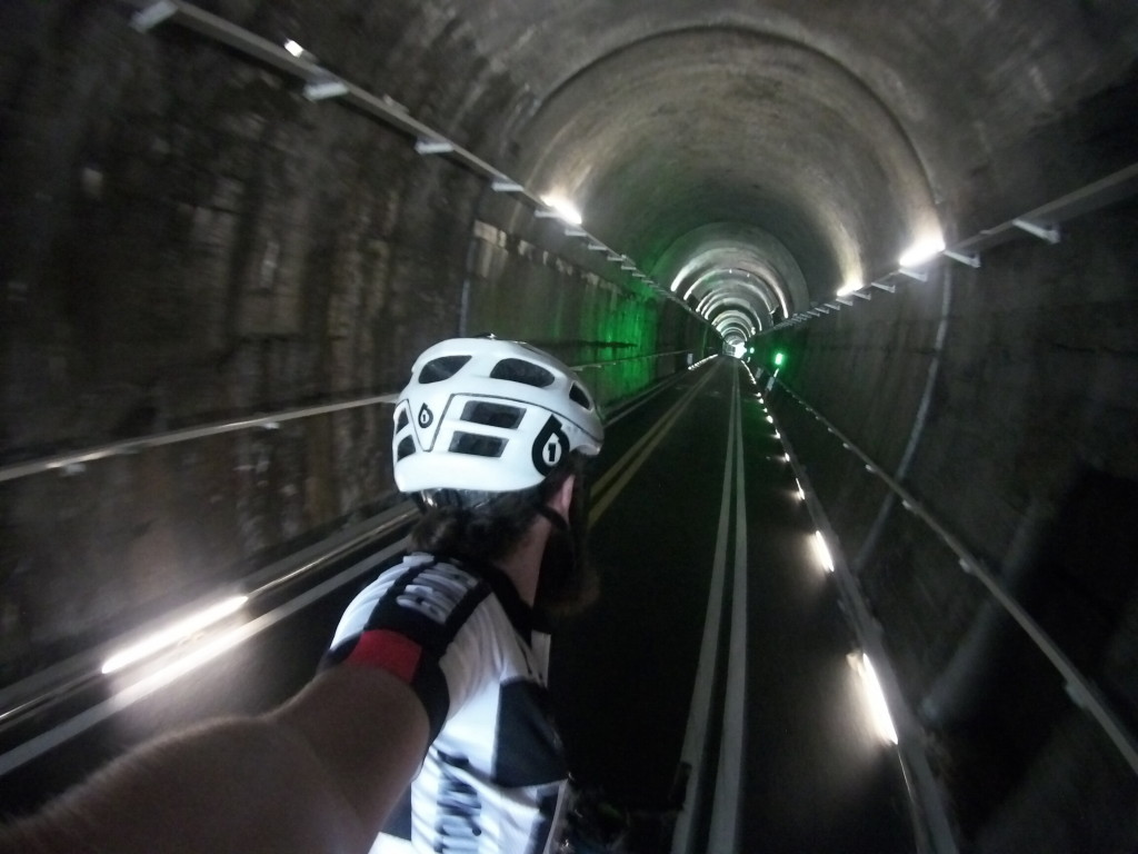 Tunnels are lots more fun without cars