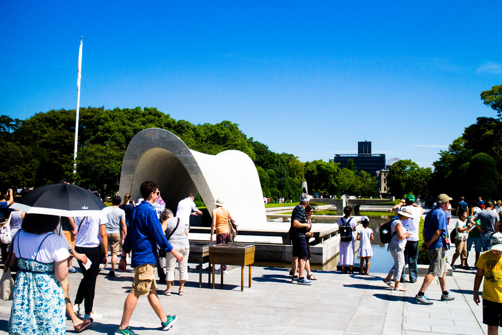 The Hiroshima Peace Monument