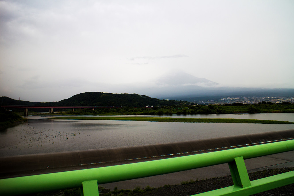 There's a bit of Mount Fuji, look.