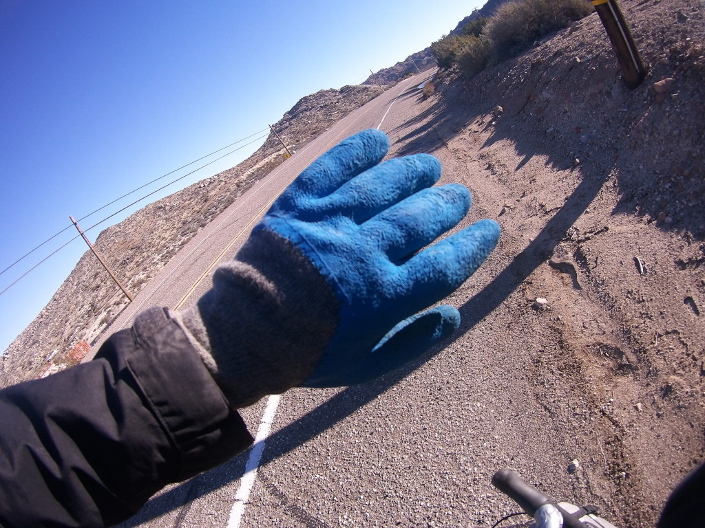The Kazakh roadwork gloves return!