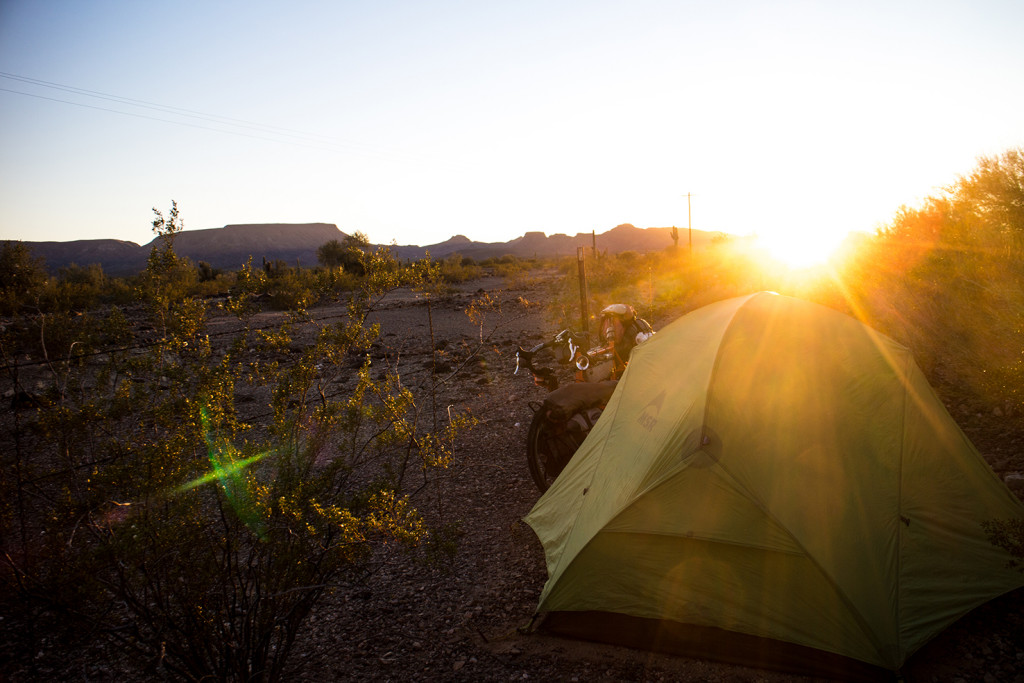 When the desert is being nice, there isn't better camping.