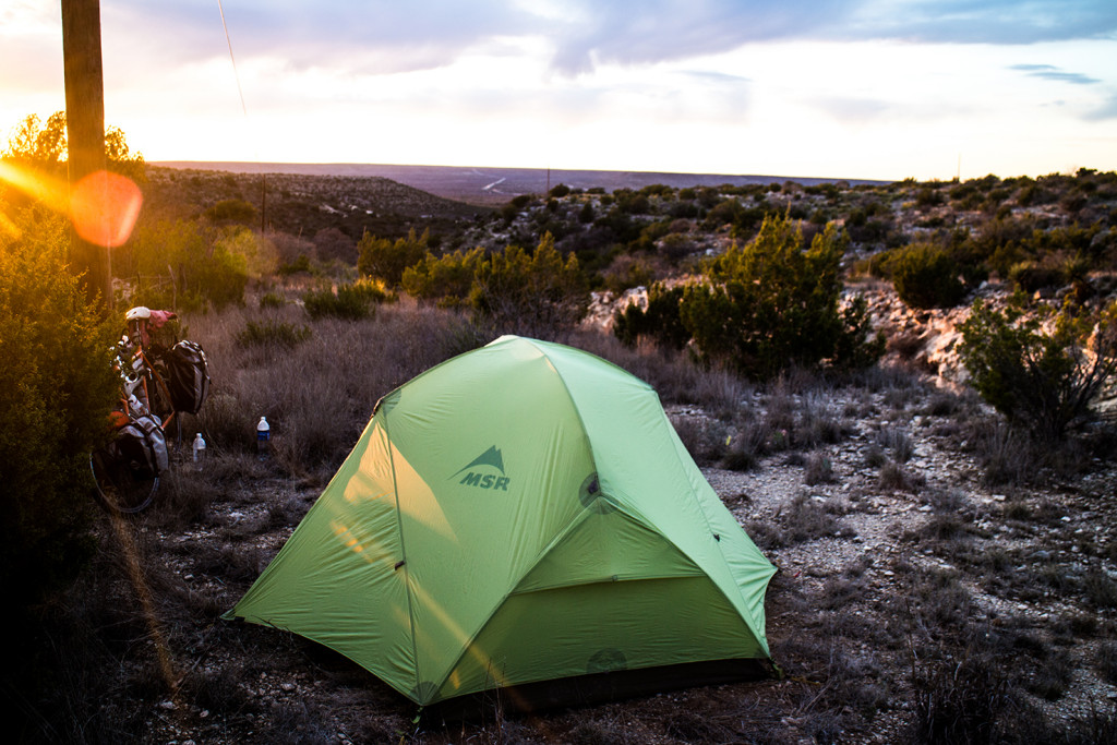 Make pretty good camping spots at the top.